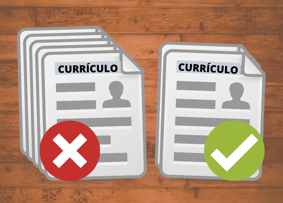 10 dicas para um currículo perfeito